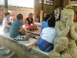 Visit to traditional Balinese Healer