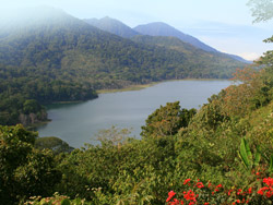 Lake Buyan and Lake Tamblingan