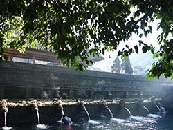 Visit to Tirta Empul temple
