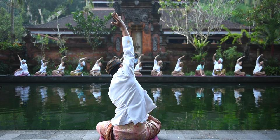 authentic yoga experience in Bali