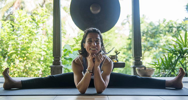 martine bounet yoga teacher and wine connoiseur