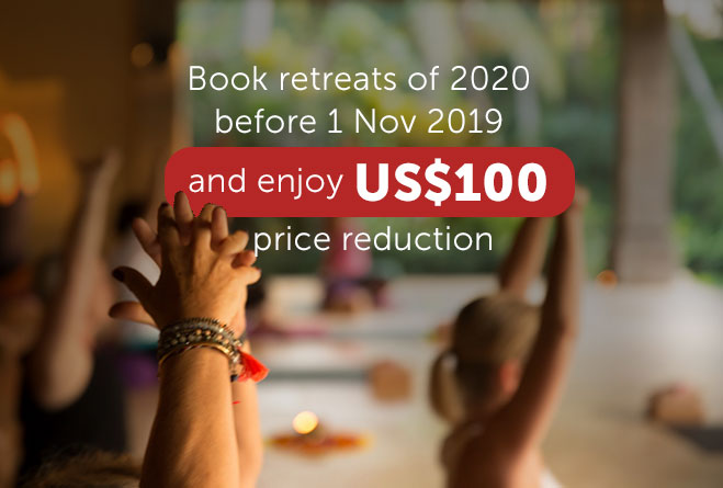 special offer yoga retreats 2020