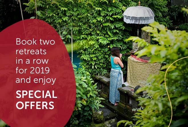 book two retreats and get special price
