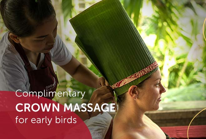 book yoga retreat enjoy complimentary crown massage
