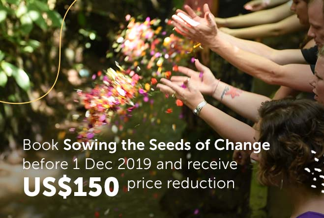 Sowing the Seeds of Change - Special Offer
